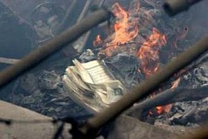 burning Quran staged Lebanon